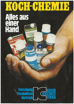 Koch-Chemie ads from the 1980s