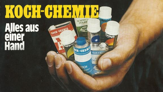 Historical ad campaign for Koch-Chemie products