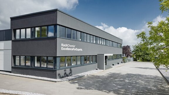 Company building in Unna, Germany