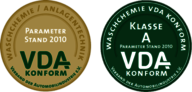 VDA award emblems
